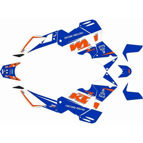 _KTM Adventure 990 06-13 Full Sticker Kit   SK-KTM990ADVBLU-P   Greenland MX_