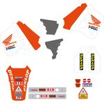 _Tecnosel Decal Kit + Seat Cover Replica Team Honda 1991 USA CR 125 91-92 250 90-91   81V01   Greenland MX_