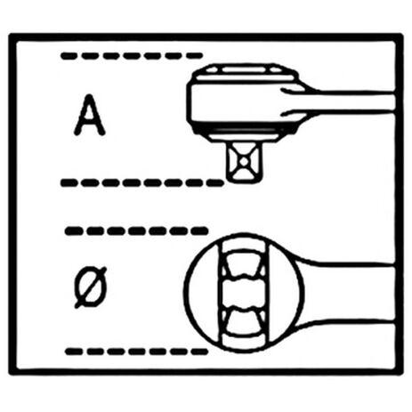 _Einfachknarre mit Gleitvierkant 1/2 72zahnig Beta Tools | 920-50 | Greenland MX_