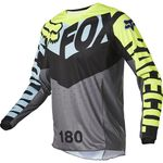 _Fox 180 Trice Youth Jersey Gray | 26734-176 | Greenland MX_
