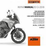 _CD Repair Manual KTM 1050/1090/1190/1290 Adventure 13-18 | 3206329 | Greenland MX_