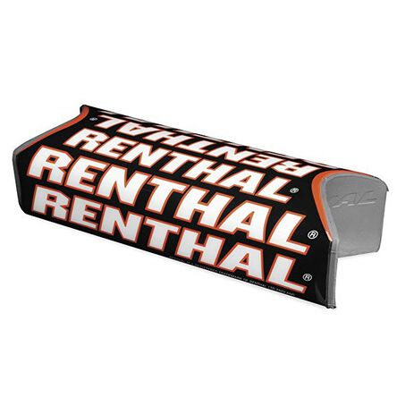 _Renthal Fat Bar Team Issue Square Handlebar Pad Black/Red | P311 | Greenland MX_