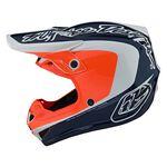 _ Troy Lee Designs SE4 Corsa Youth Helmet Navy/Orange   112133003-P   Greenland MX_