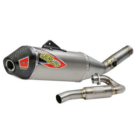 _Pro Circuit Ti-6 Titanium Kawasaki KX 450 F 19-21 Complete Exhaust System   0321945F   Greenland MX_
