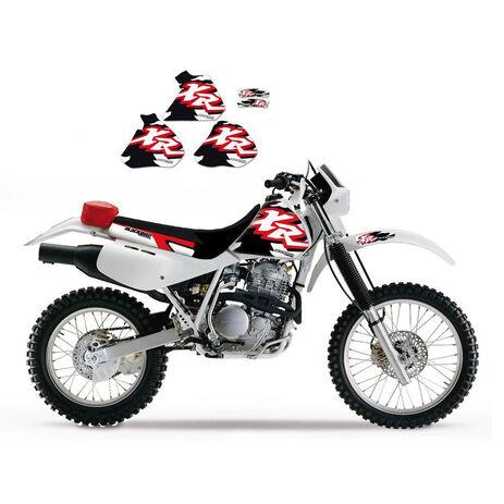 _Original Blackbird Aufkleber Kit Honda XR 250/400 96-04 | 2105 | Greenland MX_