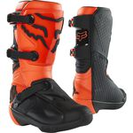 _Fox Comp Youth Boots Orange Fluo | 27689-824 | Greenland MX_