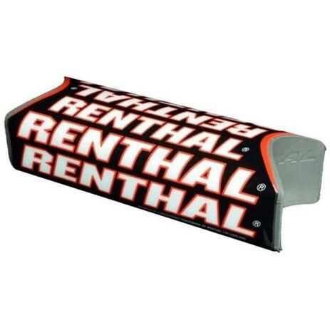 _Renthal Fat Bar Team Issue Square Lenker Pad Schwarz/Rot | P311-P | Greenland MX_