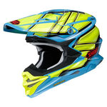 _Shoei Helm VFX-WR Glaive TC-2 | VFXWRGTC20 | Greenland MX_