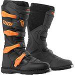 _Thor Blitz XP Boots Black/Orange | 3410-2200-P | Greenland MX_