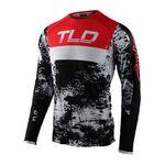 _Troy Lee Designs Ultra SE Jersey Black/Red   354893002-P   Greenland MX_