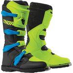 _Thor Blitz XP Youth Boots Green/Black | 3411-0517-P | Greenland MX_