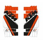 _Blackbird Radiator Louver Decal Kit Réplica Trophy 2020 KTM SX/SXF 16-18 | A502R19 | Greenland MX_