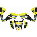 _Full Sticker Kit Suzuki JGR Team LTZ 400 03-08 | SK-SLTZ400308JGY-P | Greenland MX_