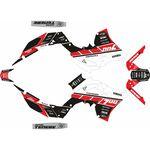 _Yamaha Ténéré 700 19-.. Square Full Sticker Kit | SK-YTE70019SQRDBK-P | Greenland MX_