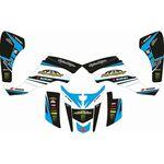 _Full Sticker Kit Suzuki Pro Circuit LTZ 400 03-08 | SK-SLTZ400308PCCY-P | Greenland MX_