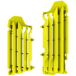 _Polisport Radiator Louver Kit Suzuki RMZ 450 18 Yellow | 8464800002 | Greenland MX_
