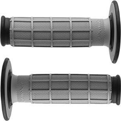 _Renthal dual half waffle medium grips black | G151 | Greenland MX_