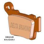 _Delta Rear Brake Pads KTM 04-.. Husqvarna 14-.. Sherco Enduro 12-.. | DB2320 | Greenland MX_