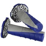 _Scott Half Waffle Grips With Donuts Gray/Blue | 2301281100222-P | Greenland MX_