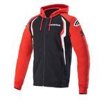 _Alpinestars Honda Zip Hoodie Red/Black | 1H20-23200 | Greenland MX_