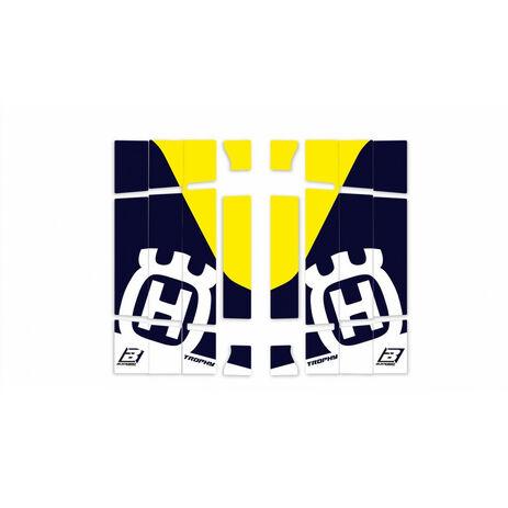 _Blackbird Replica Trophy 2020 Kühlergitter Aufkleber Kit Husqvarna FC/TC 19-.. TE/FE 20-.. | A603R4 | Greenland MX_