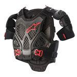 _Alpinestars A-6 Chest Protector Black | 6700022-1036 | Greenland MX_
