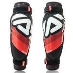 _Acerbis Soft Junior 3.0 Elbow Guards Black/Red | 0022781.323 | Greenland MX_