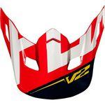 _Fox MX18 V2 Preme Helmet Visor | 21300-248-OS-P | Greenland MX_