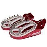 _Apico Pro-bite Husqvarna FC 16-.. KTM SX-F 16-.. Enduro Footpegs | AP-FPROKTM16RD-P | Greenland MX_