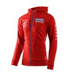 _Sweat à Capuche Troy Lee Designs Gas Gas Team Rouge | 730318002-P | Greenland MX_