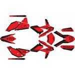 _Beta RR 2T/4T 2013 Full Sticker Kit Factory | SK-BTRRFAC13RDBK-P | Greenland MX_