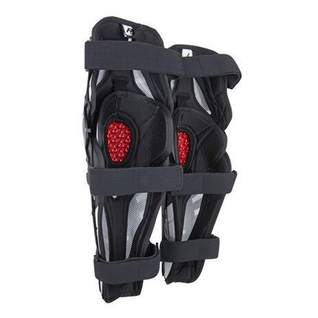 _Fox Titan Pro Knee Guards Black   06192-001-OS   Greenland MX_