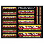 _Pro Circuit Assorted Stickers | DC96OL | Greenland MX_