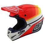 _Troy Lee SE4 Composite KTM Mirage Helmet | 105762002-P | Greenland MX_