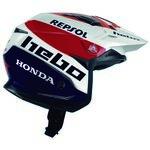 _Hebo Trial Zone 5 Air Montesa Team III Helm | HC1159B-P | Greenland MX_